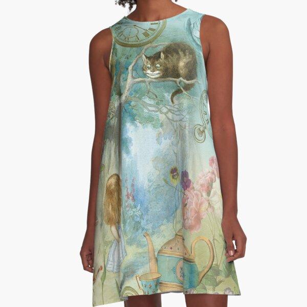 Wonderland A-Line Dress