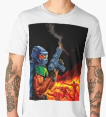Doom Space Marine Men's Premium T-Shirt