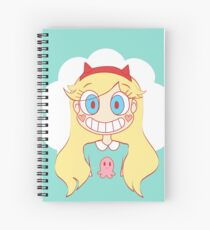 star vs the forces of evil Spiral Notebook