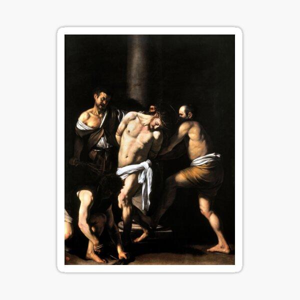 Caravaggio The Flagellation of Christ Sticker