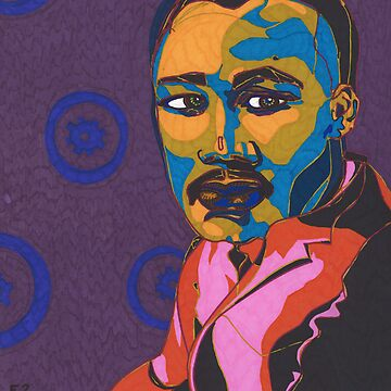 Martin Luther King Jr. by Eliq