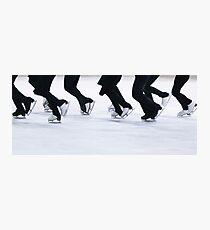 Synchro Skating Photographic Print