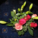 Bouquet of Roses and Lilies von BlueMoonRose