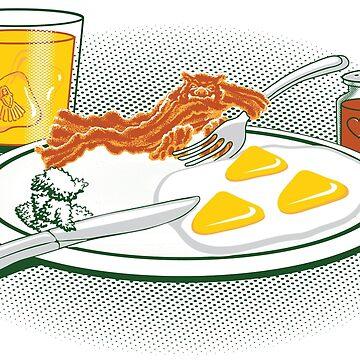 The Legend of Breakfast by halegrafx