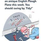 Tina and Tidy at the Tool Tonsorium by Bryan Moats