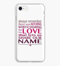 Always Remember - Avett Brothers iPhone Case/Skin