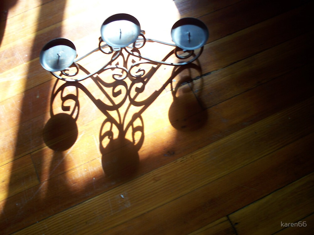 Tri-Candleholder Shadow by karen66