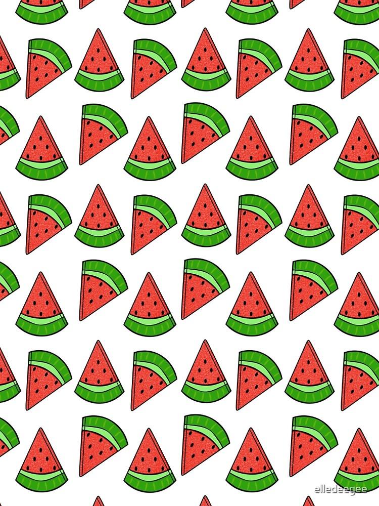 Watermelon Slice by elledeegee