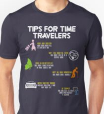 tips for time travelers Unisex T-Shirt