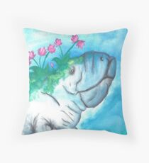 Beauty in Unexpected Places Throw Pillow