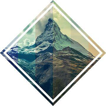 Graded Mountain by krimzen