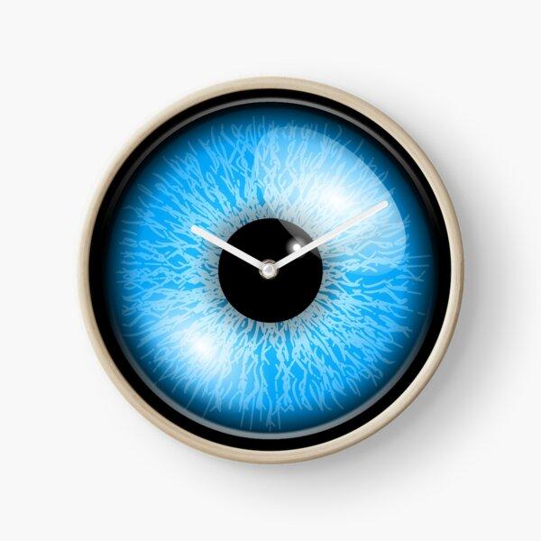 OJO. Iris, ojos azules, globo ocular, pupila, visión, ver, ver, vista, ojo, ojos, mirar, mirar. Reloj