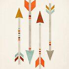 Four Arrows by fieldandsky