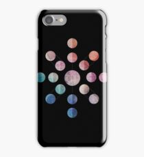 Lunar Cycle (Dark) iPhone Case/Skin
