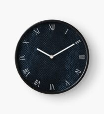 Reusable eco bag textured cloth Clock