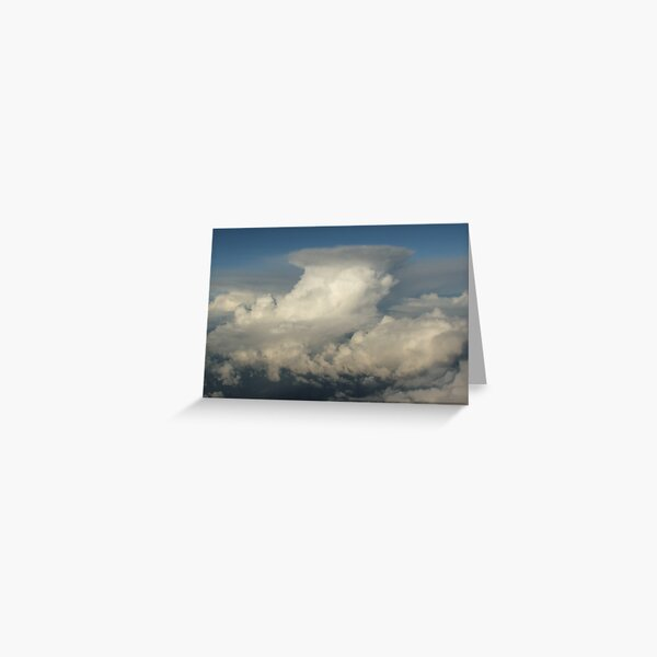 Canberra Clouds Greeting Card