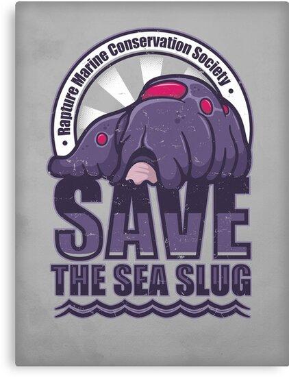 Save the Sea Slug by Adho1982