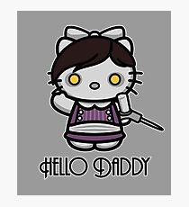 'ello Daddy Photographic Print