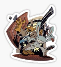 Sam & Max - Door Art Sticker