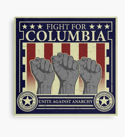 Fight for Columbia Canvas Print
