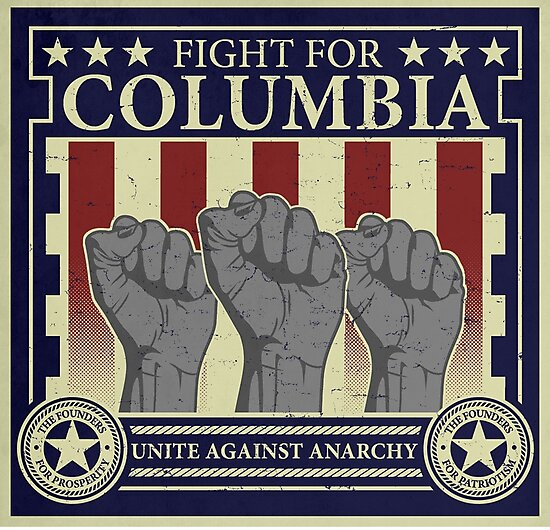 Fight for Columbia by Adho1982