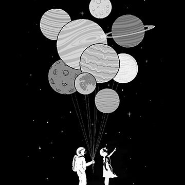 Between planets and balloons. by Solublezebra