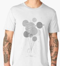 Between planets and balloons. Men's Premium T-Shirt