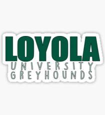 Loyola University Maryland Greyhounds Sticker