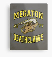 Megaton Deathclaws Metal Print