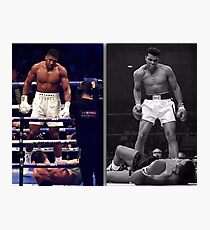 Joshua & Ali Stand Tall Photographic Print