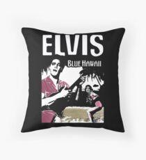 Elvis Presley - Blue Hawaii Throw Pillow