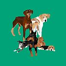 6 Dogs by VieiraGirl
