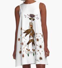 Cosmos Girl - Flower Fairy A-Line Dress