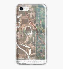 USGS TOPO Maps Iowa IA Salix 20100427 TM iPhone Case/Skin