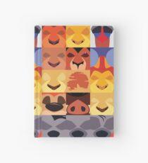 Minimalist Lion King Icons Hardcover Journal
