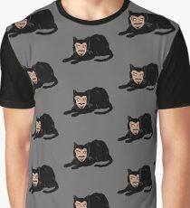 Camiseta gráfica Vlad el gato (gris)