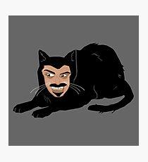 Vlad the Cat (Gray) Photographic Print