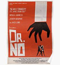 Orange Dr No Poster
