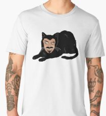 Vlad the Cat (Gray) Men's Premium T-Shirt