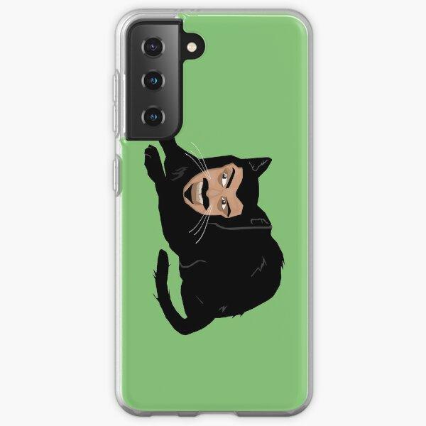 Vlad the Cat (Green) Samsung Galaxy Soft Case