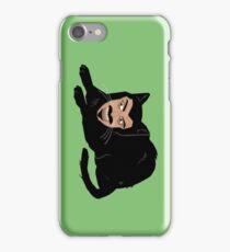 Vlad the Cat (Green) iPhone Case/Skin
