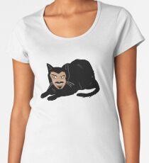 Vlad the Cat (Green) Women's Premium T-Shirt