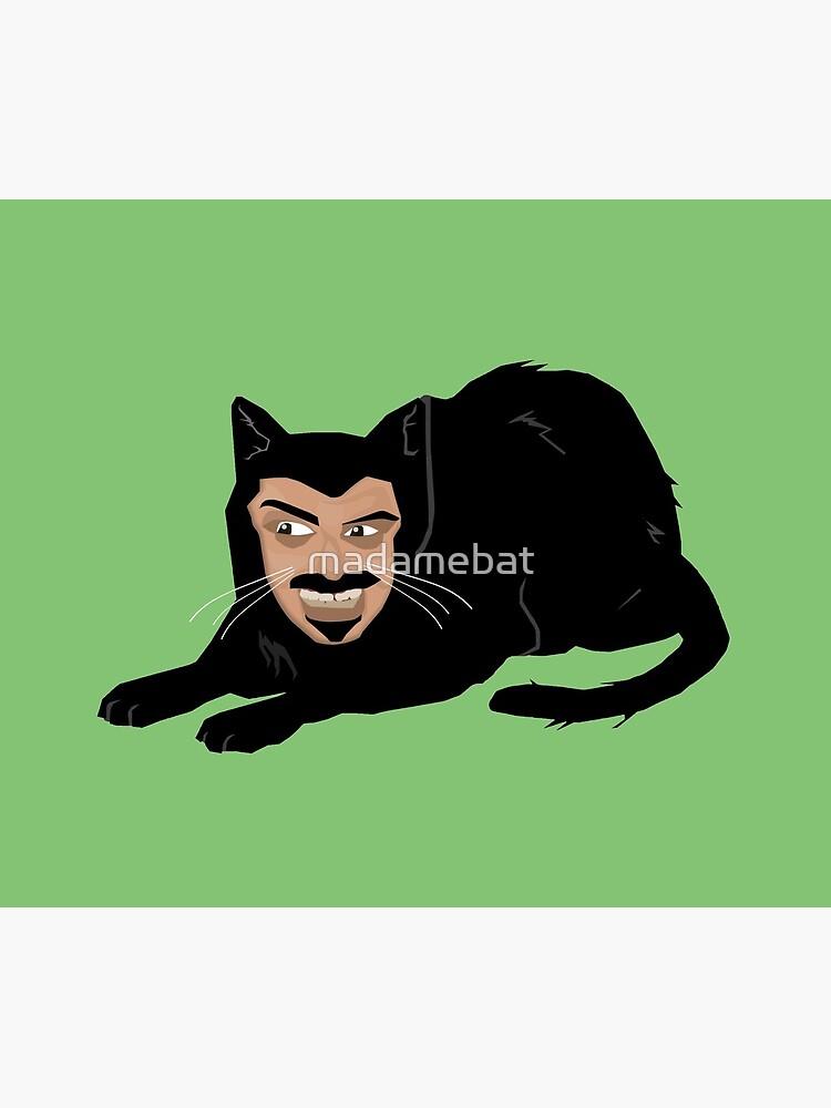 Vlad die Katze (grün) von madamebat