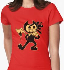 Bendy Womens Fitted T-Shirt