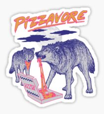 Pizzavore Sticker