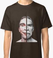 happy sad emotional face Classic T-Shirt