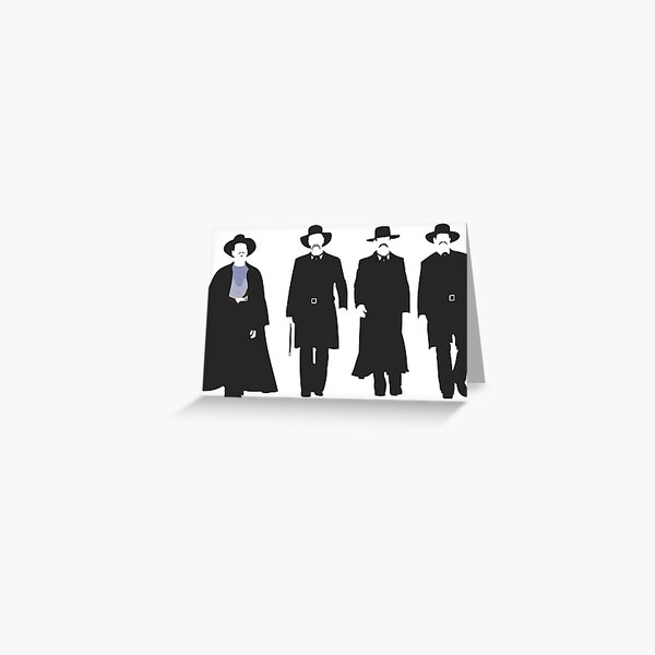 Tombstone: Justice is Coming Greeting Card