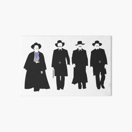 Tombstone: Justice is Coming Art Board Print