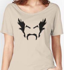 HeiHachi Mishima Tekken Black Women's Relaxed Fit T-Shirt