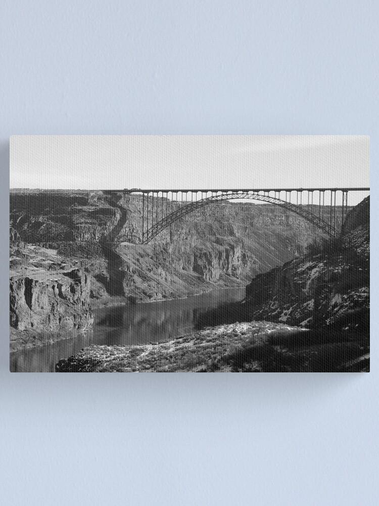 Alternate view of Majestic - The Perrine Bridge Canvas Print